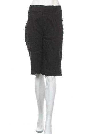 Γυναικείο κοντό παντελόνι Avella, Μέγεθος XXL, Χρώμα Μαύρο, Βαμβάκι, πολυεστέρας, ελαστάνη, Τιμή 19,87€