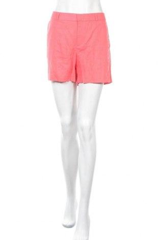 Γυναικείο κοντό παντελόνι Banana Republic, Μέγεθος L, Χρώμα Ρόζ , 55% λινό, 45% βαμβάκι, Τιμή 18,51€