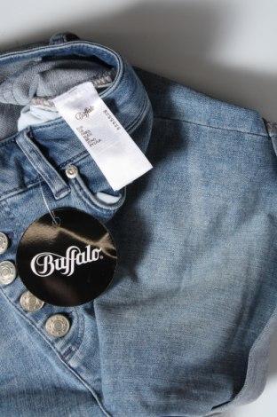 Pantaloni scurți de femei Buffalo, Mărime M, Culoare Albastru, 97% bumbac, 3% elastan, Preț 145,56 Lei