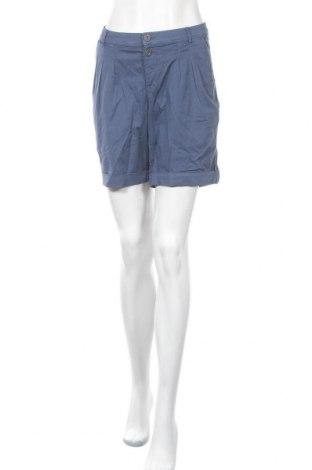 Γυναικείο κοντό παντελόνι Charles Vogele, Μέγεθος L, Χρώμα Μπλέ, 98% βαμβάκι, 2% ελαστάνη, Τιμή 10,00€