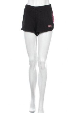 Дамски къс панталон Colours Of The World, Размер XL, Цвят Черен, Памук, Цена 17,75лв.