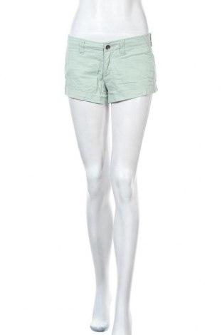 Γυναικείο κοντό παντελόνι Hollister, Μέγεθος S, Χρώμα Πράσινο, 98% βαμβάκι, 2% ελαστάνη, Τιμή 8,18€