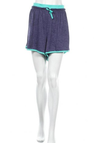 Pantaloni scurți de femei Just Be, Mărime 3XL, Culoare Albastru, Poliester, Preț 16,11 Lei