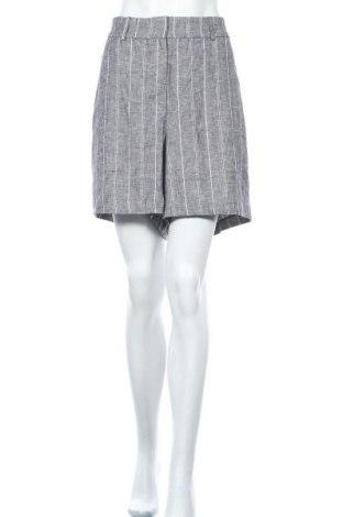 Дамски къс панталон Lane Bryant, Размер XXL, Цвят Сив, 53% лен, 45% вискоза, 2% еластан, Цена 44,10лв.