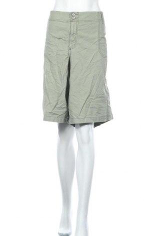 Дамски къс панталон Lane Bryant, Размер 3XL, Цвят Зелен, 98% памук, 2% еластан, Цена 14,28лв.