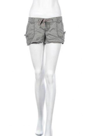 Дамски къс панталон Mudd, Размер M, Цвят Зелен, 100% памук, Цена 10,71лв.