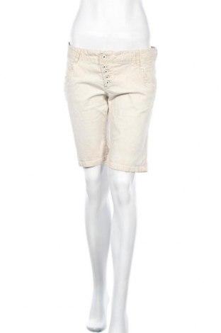 Дамски къс панталон Multiblu, Размер L, Цвят Бежов, Цена 16,54лв.