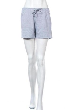 Дамски къс панталон Sports Performance by Tchibo, Размер M, Цвят Син, 80% полиестер, 20% еластан, Цена 22,05лв.