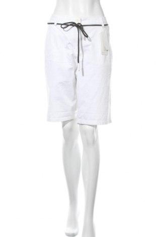 Pantaloni scurți de femei Tom Tailor, Mărime XL, Culoare Alb, 97% bumbac, 3% elastan, Preț 106,74 Lei