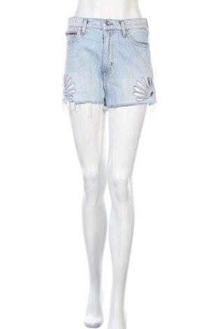 Γυναικείο κοντό παντελόνι Tommy Hilfiger, Μέγεθος S, Χρώμα Μπλέ, Βαμβάκι, Τιμή 24,94€