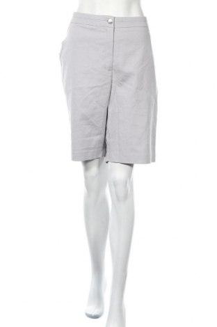 Дамски къс панталон W. Lane, Размер XXL, Цвят Сив, Памук, полиестер, еластан, Цена 37,91лв.