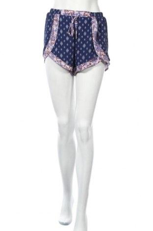 Дамски къс панталон Xhilaration, Размер M, Цвят Син, Полиестер, Цена 13,23лв.
