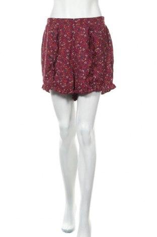 Дамски къс панталон Xhilaration, Размер M, Цвят Червен, Полиестер, Цена 16,54лв.
