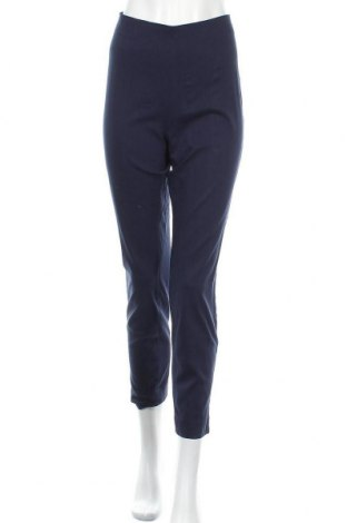 Дамски панталон Essentials by Tchibo, Размер XL, Цвят Син, 77% вискоза, 20% полиамид, 3% еластан, Цена 22,05лв.
