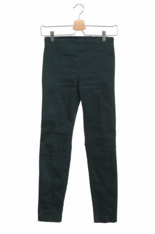 Дамски клин H&M, Размер XS, Цвят Зелен, 70% памук, 27% полиестер, 3% еластан, Цена 20,79лв.