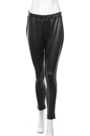 Дамски кожен клин Tom Tailor, Размер XL, Цвят Черен, Еко кожа, Цена 20,65лв.