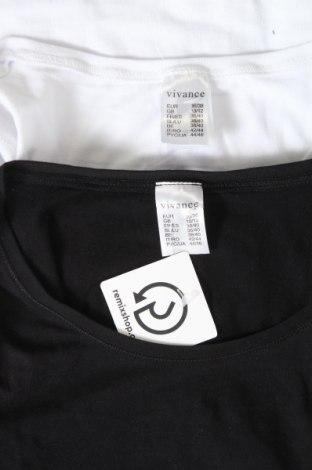 Дамски комплект Vivance, Размер S, Цвят Черен, 95% памук, 5% еластан, Цена 30,80лв.