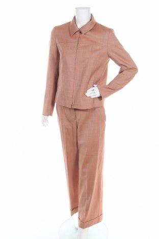 Дамски костюм COS, Размер S, Цвят Оранжев, 98% вълна, 2% еластан, Цена 51,17лв.