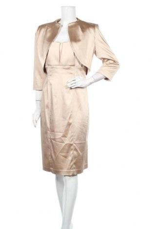 Dámský kostým   Calvin Klein, Velikost M, Barva Béžová, 68% acetát , 29% polyamide, 3% elastan, Cena  2152,00Kč