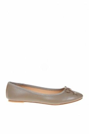 Γυναικεία παπούτσια, Μέγεθος 38, Χρώμα  Μπέζ, Γνήσιο δέρμα, Τιμή 17,18€