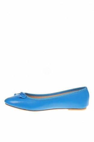 Дамски обувки, Размер 38, Цвят Син, Естествена кожа, Цена 29,75лв.