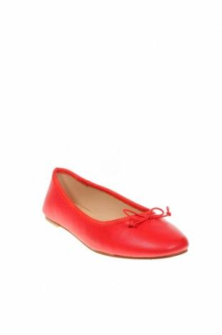 Дамски обувки, Размер 38, Цвят Червен, Естествена кожа, Цена 29,75лв.