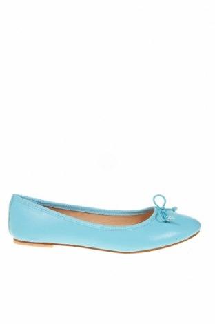 Γυναικεία παπούτσια, Μέγεθος 38, Χρώμα Μπλέ, Γνήσιο δέρμα, Τιμή 17,18€