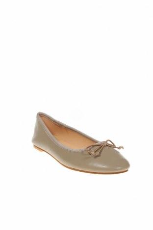 Дамски обувки, Размер 38, Цвят Сив, Естествена кожа, Цена 28,70лв.