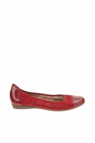 Γυναικεία παπούτσια, Μέγεθος 37, Χρώμα Κόκκινο, Φυσικό σουέτ, γνήσιο δέρμα, Τιμή 23,90€