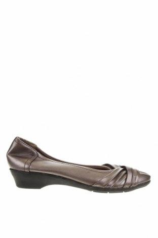 Дамски обувки, Размер 38, Цвят Сив, Еко кожа, Цена 8,38лв.