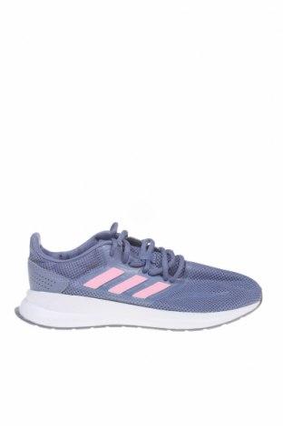 Дамски обувки Adidas, Размер 37, Цвят Син, Текстил, Цена 47,25лв.