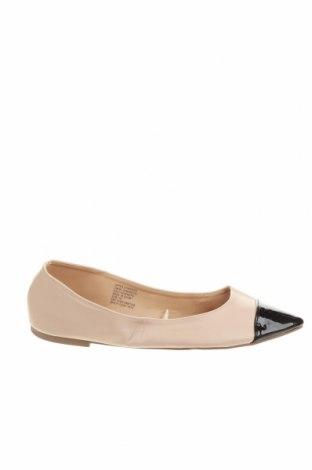 Дамски обувки Anko, Размер 41, Цвят Бежов, Еко кожа, Цена 21,84лв.