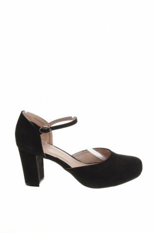 Γυναικεία παπούτσια Anna Field, Μέγεθος 38, Χρώμα Μαύρο, Κλωστοϋφαντουργικά προϊόντα, Τιμή 18,25€
