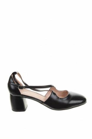 Дамски обувки Anna Field, Размер 41, Цвят Черен, Еко кожа, Цена 34,22лв.