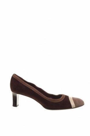 Дамски обувки Bally, Размер 40, Цвят Кафяв, Естествен велур, Цена 137,80лв.