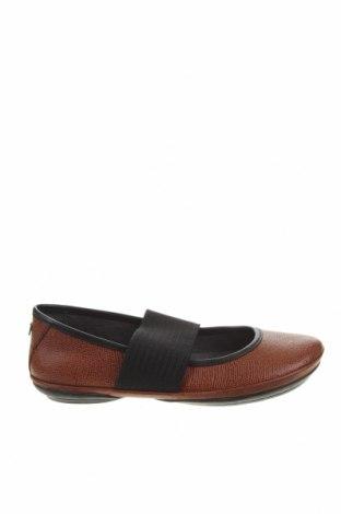 Дамски обувки Camper, Размер 38, Цвят Кафяв, Естествена кожа, текстил, Цена 134,25лв.