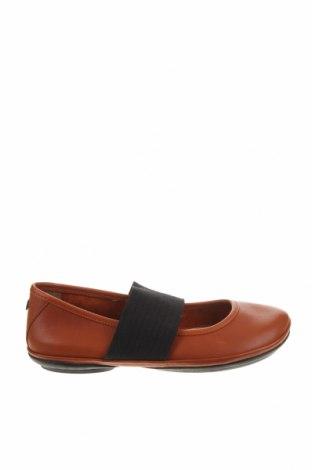 Дамски обувки Camper, Размер 36, Цвят Кафяв, Естествена кожа, текстил, Цена 141,75лв.