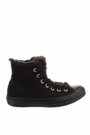 Γυναικεία παπούτσια Converse, Μέγεθος 35, Χρώμα Μαύρο, Φυσικό σουέτ, Τιμή 37,45€