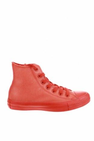 Дамски обувки Converse, Размер 36, Цвят Оранжев, Полиуретан, Цена 56,76лв.