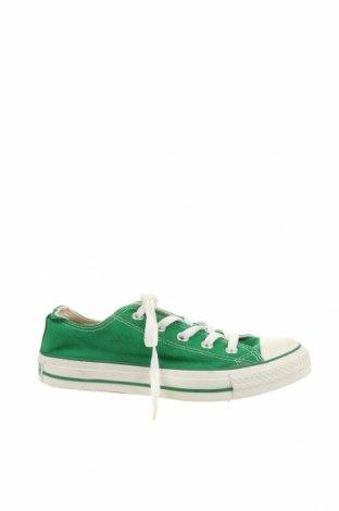 Дамски обувки Converse, Размер 35, Цвят Зелен, Текстил, Цена 46,20лв.