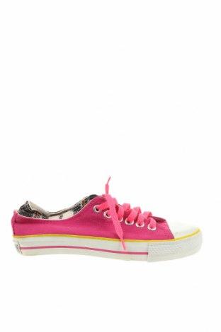 Дамски обувки Converse, Размер 35, Цвят Розов, Текстил, Цена 51,45лв.