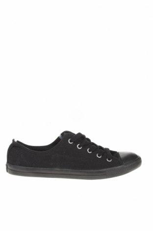 Γυναικεία παπούτσια Converse, Μέγεθος 39, Χρώμα Μαύρο, Κλωστοϋφαντουργικά προϊόντα, Τιμή 31,18€