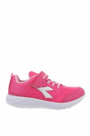 Дамски обувки Diadora, Размер 35, Цвят Розов, Текстил, Цена 35,77лв.