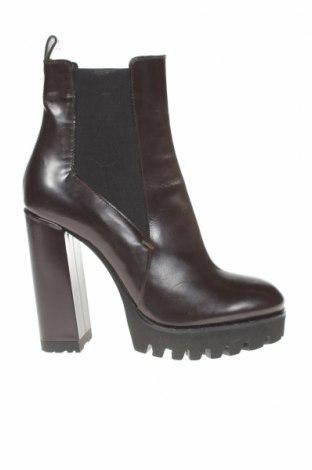 Дамски обувки Furla, Размер 37, Цвят Кафяв, Естествена кожа, Цена 216,75лв.