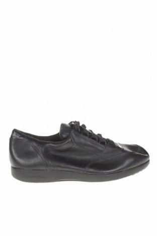 Дамски обувки Hush Puppies, Размер 37, Цвят Черен, Естествена кожа, Цена 43,89лв.
