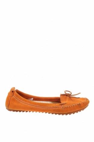 Дамски обувки Hush Puppies, Размер 39, Цвят Оранжев, Естествен велур, Цена 35,70лв.