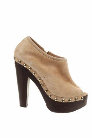 Γυναικεία παπούτσια Jimmy Choo, Μέγεθος 40, Χρώμα  Μπέζ, Φυσικό σουέτ, Τιμή 52,95€