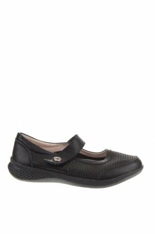 Γυναικεία παπούτσια Just Bee, Μέγεθος 38, Χρώμα Μαύρο, Γνήσιο δέρμα, Τιμή 26,82€