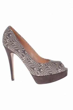 Дамски обувки Missoni, Размер 41, Цвят Сив, Текстил, Цена 98,89лв.