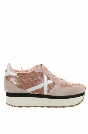 Γυναικεία παπούτσια Munich, Μέγεθος 38, Χρώμα Ρόζ , Κλωστοϋφαντουργικά προϊόντα, φυσικό σουέτ, Τιμή 57,60€